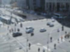 צומת עזריאלי סקרי תנועה | IPI