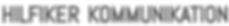 Hilfiker Kommunikation Logo