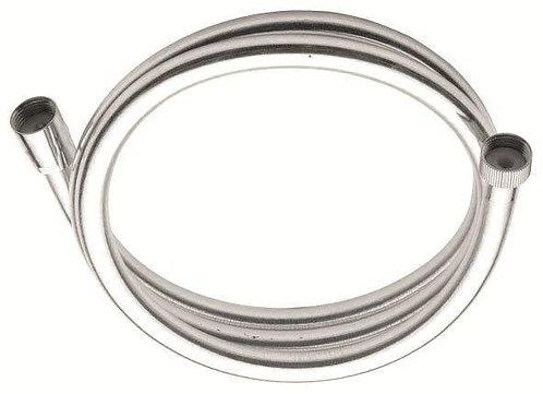 P.V.C. Shower Hoses Silver 150 Cm