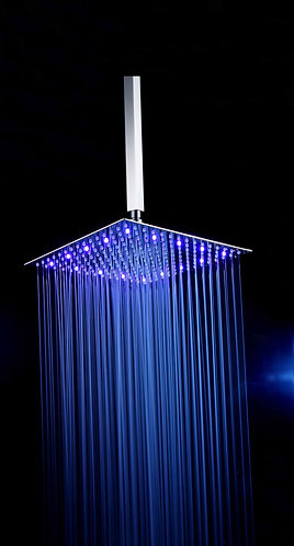 Shower Head With LED 20x20