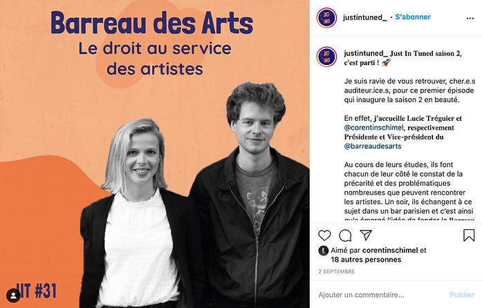 Barreau des arts