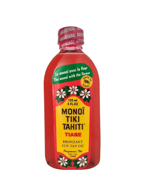 Bronceador Tiare Monoï SPF3 Tiki Tahiti 120ML -