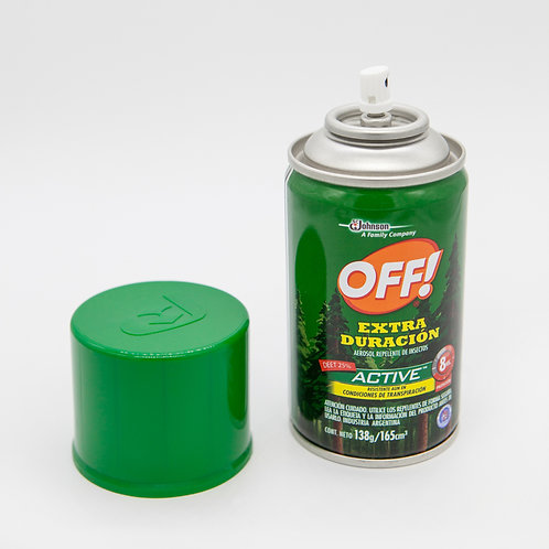 Repelente OFF EXTREME 25% DEET 8 hrs 165 cc