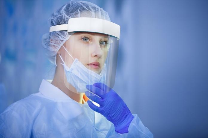 Nurse EctoVise Face Shield