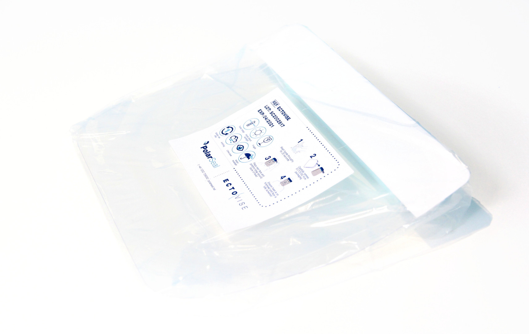 Packaged EctoVise Face Shield
