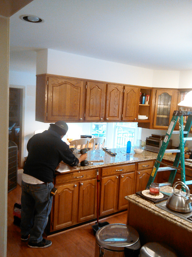Painting and Refinishing Kitchen Cabinets, How To\'s and Tips