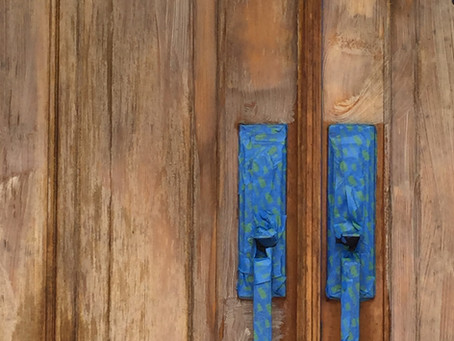 How to Stain and Refinish your Entry Way Door Like a Pro | A List of How To's