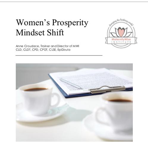 Women's Prosperity Mindset Shift
