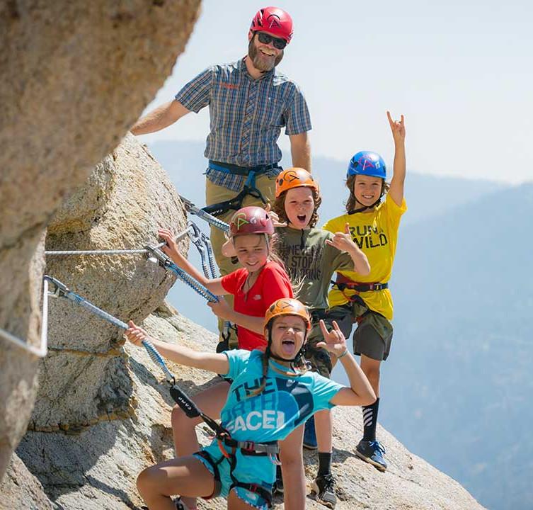 Tahoe Via Ferrata - Squaw Valley - California, USA