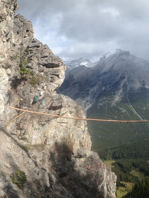 Mt Norquay Via Ferrata - Banff National Park, Canada