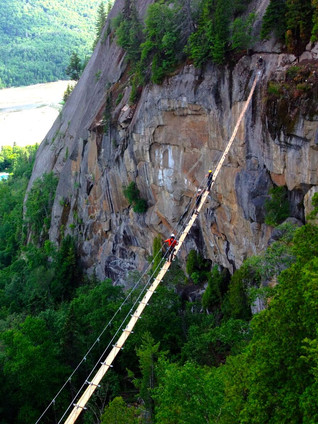Fjord du Saguenay National Park - Via Ferrata - Quebec, Canada