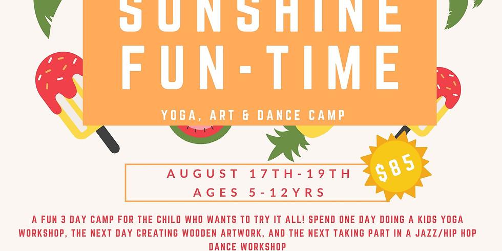 Sunshine Fun-Time: Yoga, Art & Dance Camp