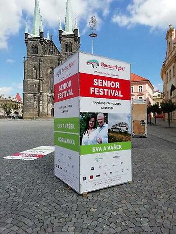 Pronájem reklamy Senior festival