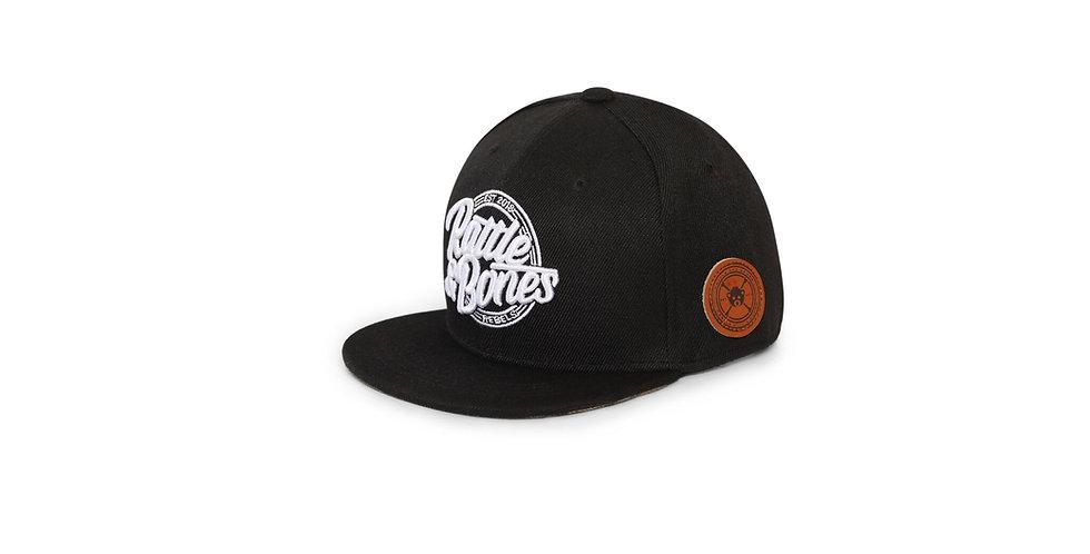 """Black """"Logo"""" Rattler"""