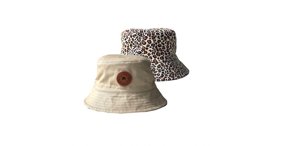 Leopard Hunter Bucket  (Reversible)