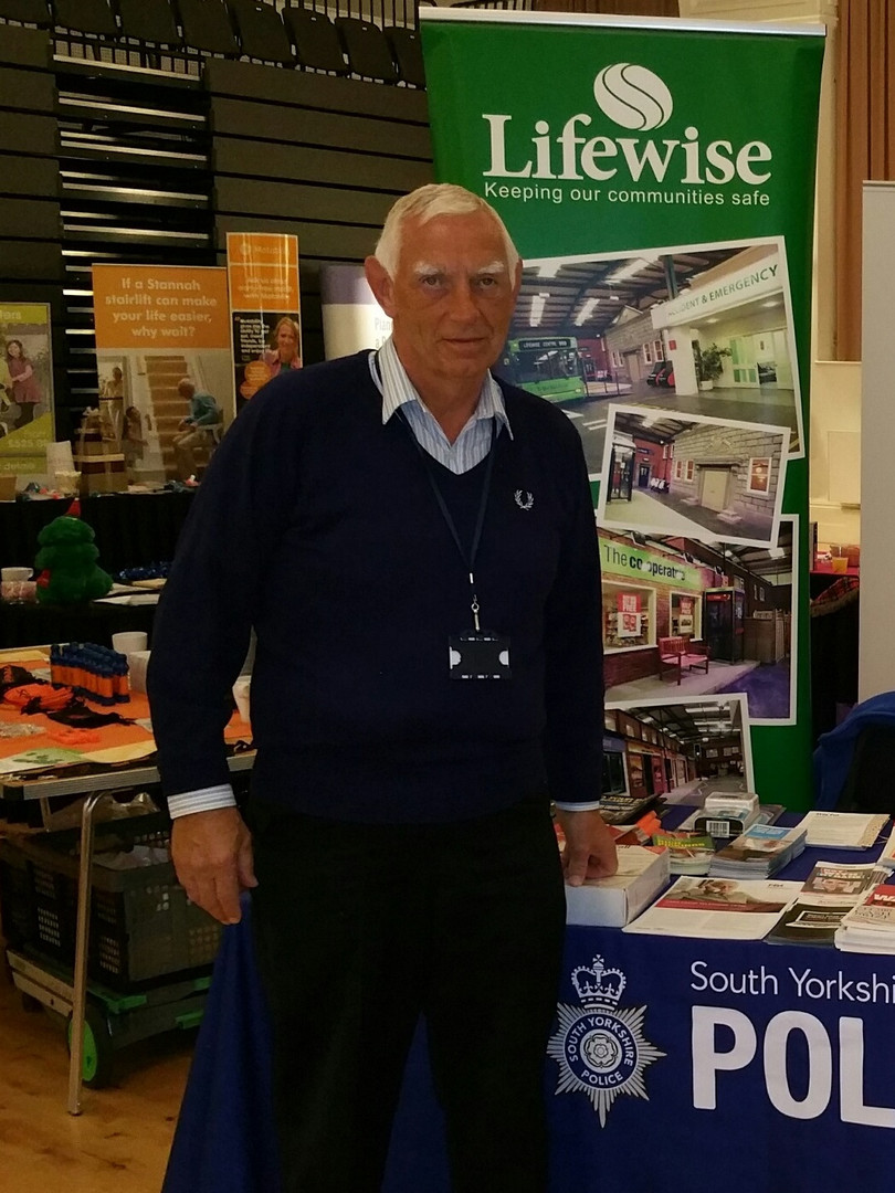 Community stall volunteer