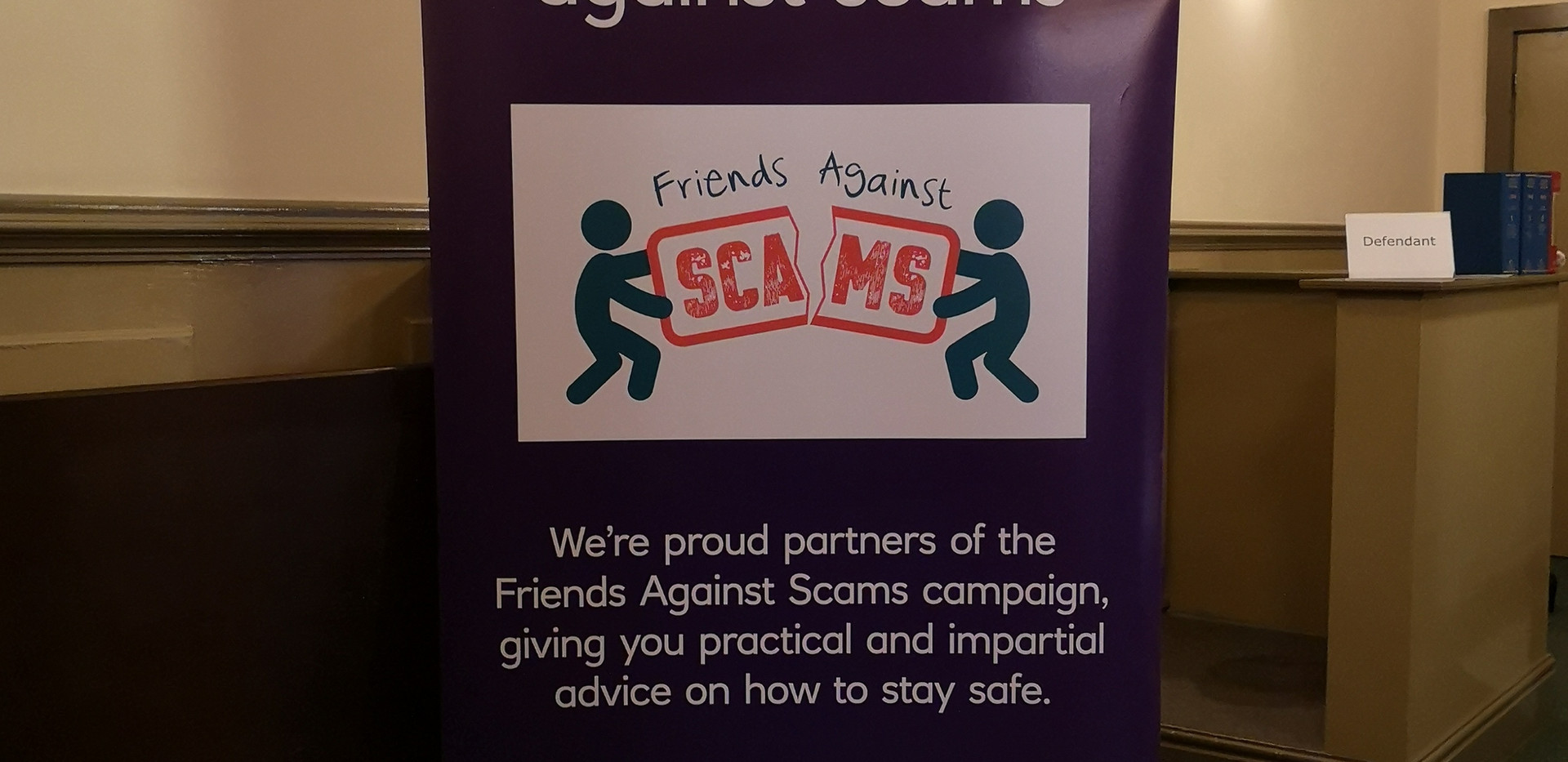 Nat West Fraud stand