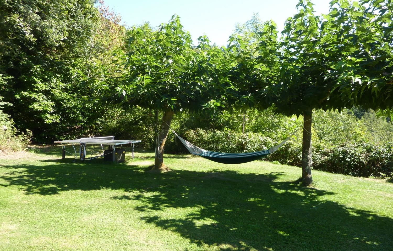 Garden / Hammock / Table tennis