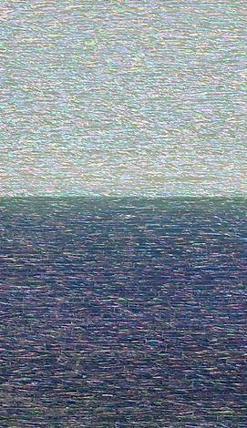 Ocean Rhapsody 11, 2020, Mother of pearl