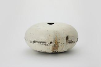 Lee Kang-hyo Buncheong Jar I,2017,  Clay, Buncheong 37 × 41 × 21 cm