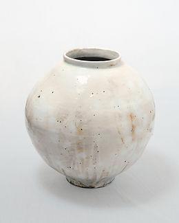 Buncheong Moon Jar #34, 2018, Buncheong,
