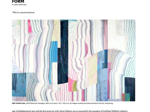 ArtAsiaPacific | KIM YOUNG-HUN: PUSHING THE BOUNDARIES OF ABSTRACT FORM BY SIBA KUMAR DAS