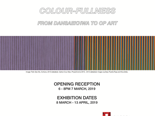 Colour-Fullness: From Dansaekhwa to Optical Art