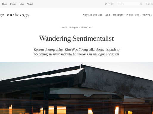 DESIGN ANTHOLOGY: Kim Woo Young, the Wandering Sentimentalist