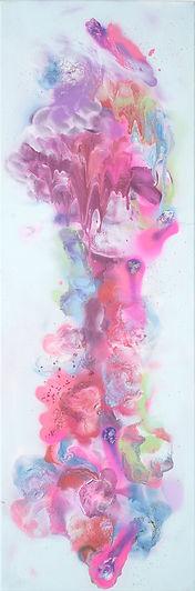 Utopia 26_62, 2015, Spray on canvas, 91.