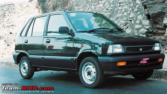 2001 Maruti 800 Nostalgic Collectors Car