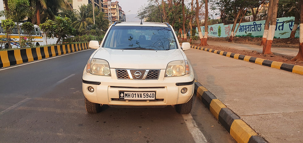 Nissan X Trail Diesel with Sunroof