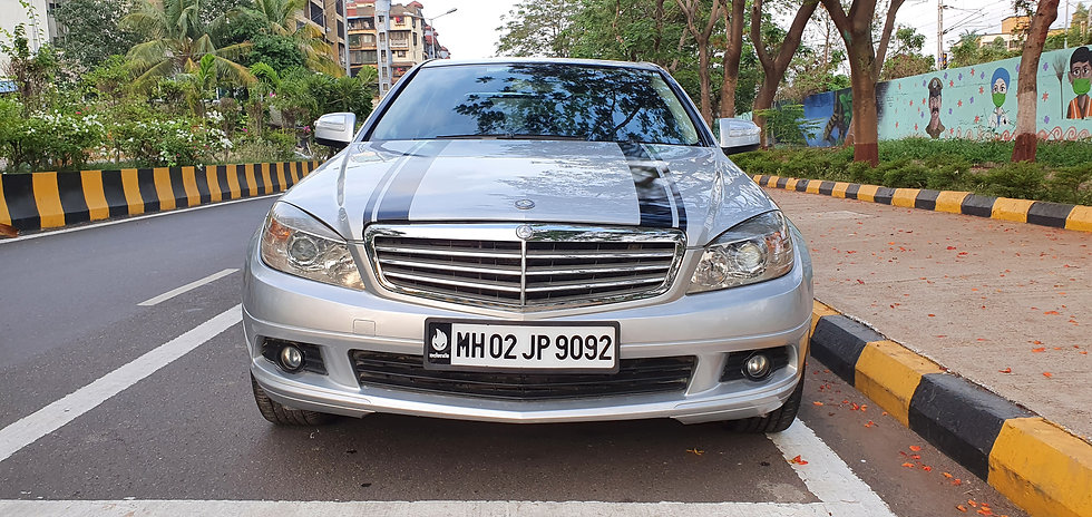 2008 Mercedes Benz C-200 Petrol Manual with Sunroof