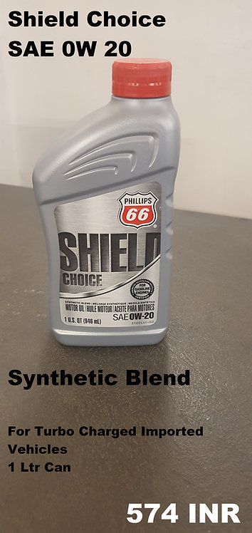 Shield Choice 0w20 Synthetic Blend
