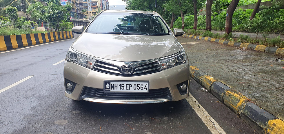 2014 Toyota Corolla Altis VL Automatic