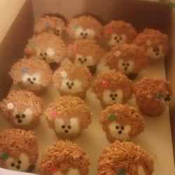 Hedgehog cupcakes ....