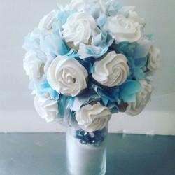 Bouquet. .. Bridal shower centerpiece.
