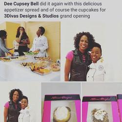 Love what I do!! #cupseycakesyonthemove #labellaculinarydecorandevents #cheflife #model #3divasstudi