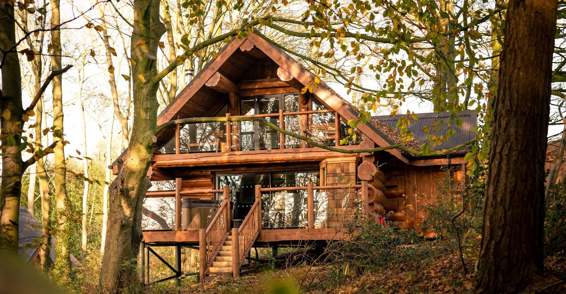 Slider - Swinnney Wood Log Cabins