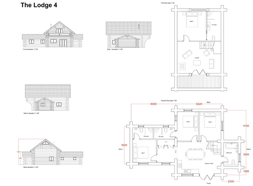 Forest Lodge Plans