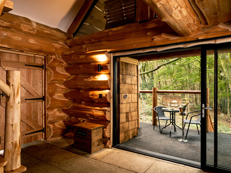Log cabins as holiday lets