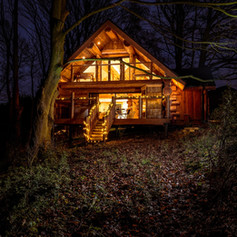 Swinney Wood Log Home by British Log Cab