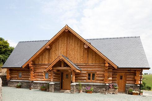 Llangedwyn Log Cabin Home by British Log