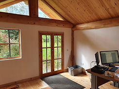 Phils Post and Beam Home Office internal