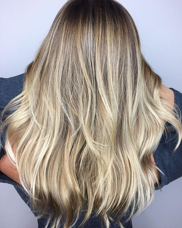 BLONDE achieved with Joico Blonde Life 9+ Lightener