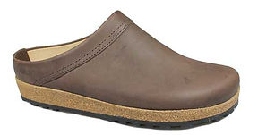 HAFLINGER MALMO LEATHER CLOGS