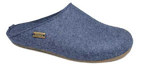 HAFLINGER EVEREST FUNDUS GRAPHITE SLIPPERS