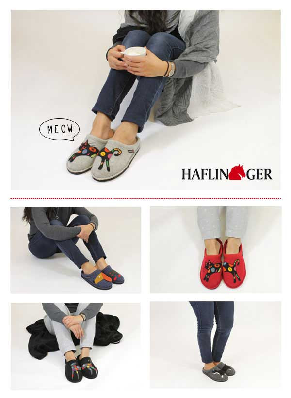 HAFLINGER DOGS AND CATS SLIPPERS