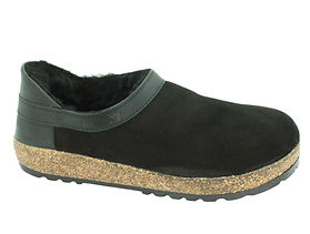 Haflinger-Siberia-Sheepskin-Clogs-Black.