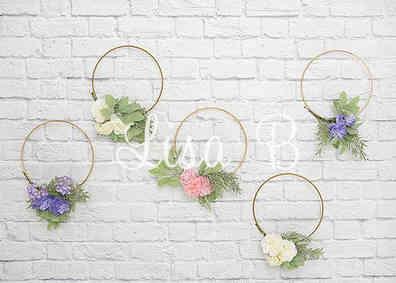 Nummer 26 Steinmauer Blumen