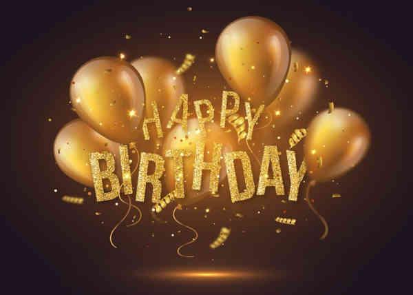 Nummer 21 Happy Birthday